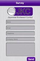 Screenshot of Japanese Knotweed Control