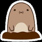 Pull up Mole icon