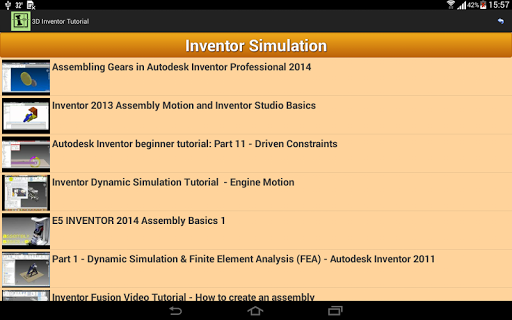 免費下載教育APP|3D Inventor Tutorial app開箱文|APP開箱王