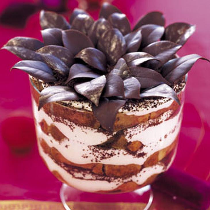 Tiramisu Eggnog Trifle Recipe