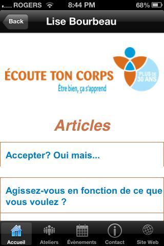 【免費生活App】Écoute Ton Corps HD-APP點子