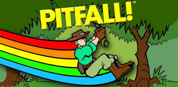 Скачать Pitfall - отличный runner для Android