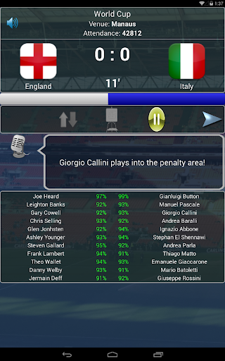 True Football National Manager 1.4.6 screenshots 12