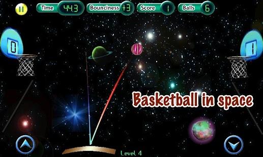 Cosmic Basketball screenshot