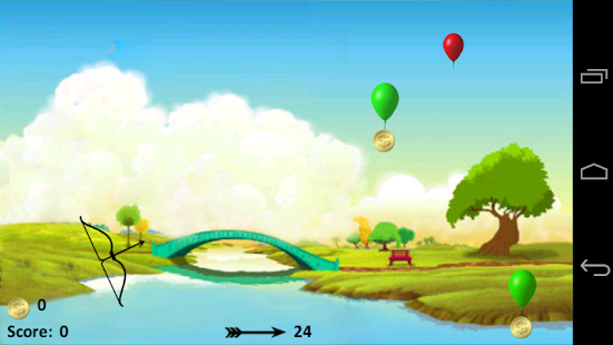 Balloon Bow & Arrow- screenshot thumbnail