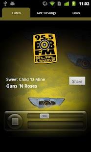 95.5 BOB-FM 80's, 90's- screenshot thumbnail