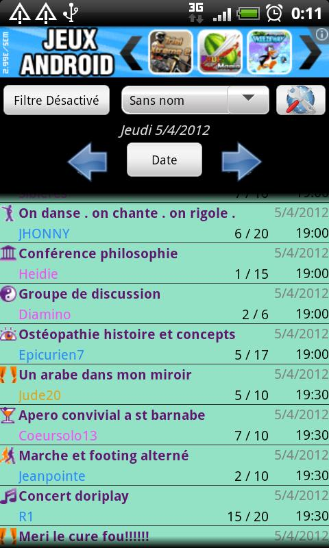 OVS To Calendar - screenshot