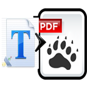 Text to PDF Converter Demo