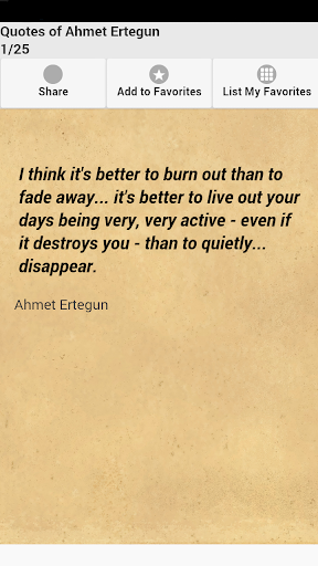 Quotes of Ahmet Ertegun