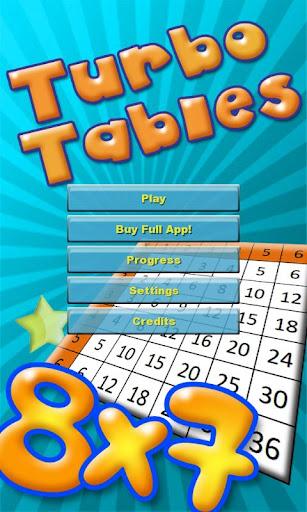 Turbo Tables Free