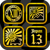 XIII JAPAN Gold Icon&WallPaper