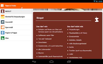 Abfall-App | BSR Screenshot 35