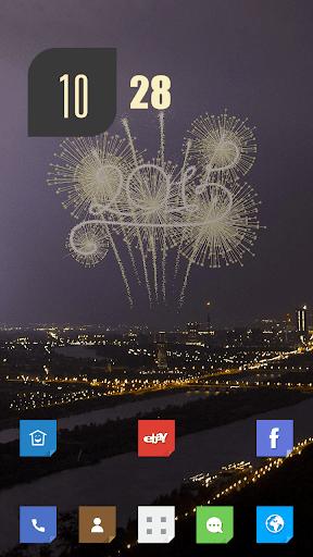 全新的2015年煙花主題