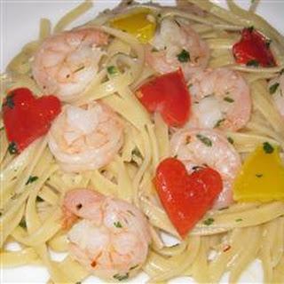 Scrumptious Shrimp Scampi Linguine