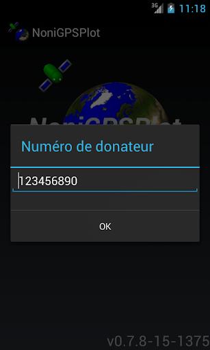 NoniGPSPlot Donateur