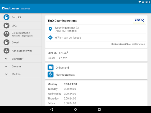 DirectLease Tankservice Lietotnes (APK) bezmaksas lejupielādēt Android/PC/Windows screenshot