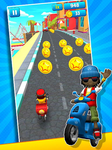 Subway Scooters Free -Run Race 4.1.6 screenshots 8