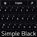 Simple Keyboard Black icon