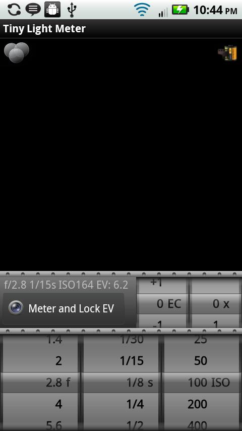 Tiny Light Meter - screenshot