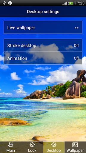 玩攝影App|藍天白雲海岸動態壁紙屏幕鎖免費|APP試玩