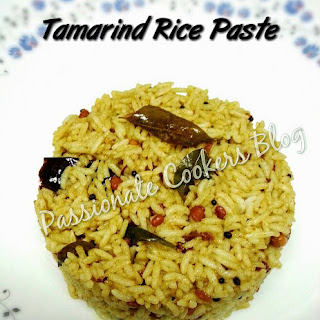 Tamarind Rice Paste (Pulikaichal)