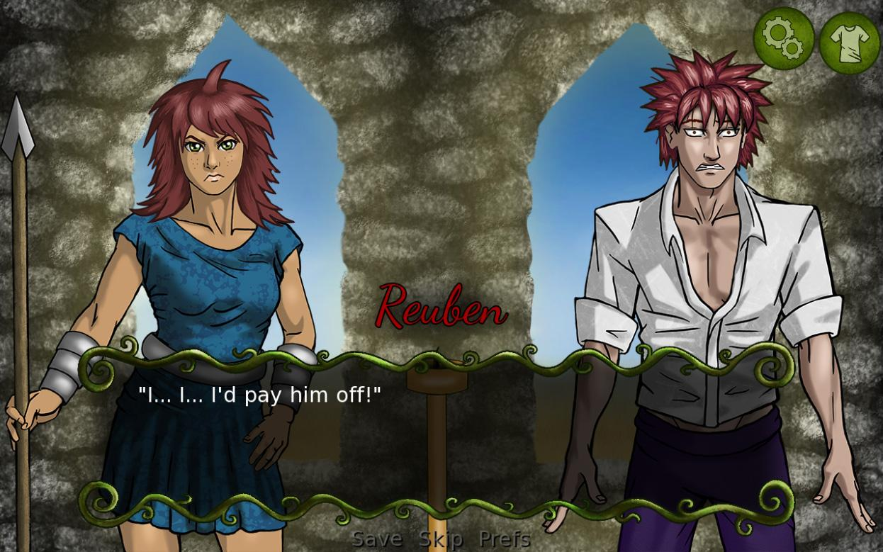 Serafina's Saga (Visual Novel)- screenshot