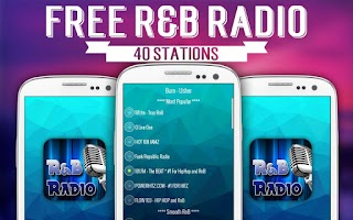 Screenshot of Free RnB Radio