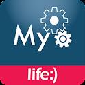 life:) - Logo