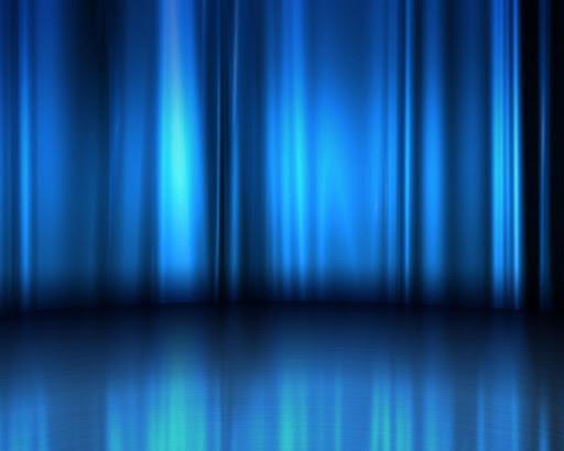 Glowing Blue Live Wallpaper
