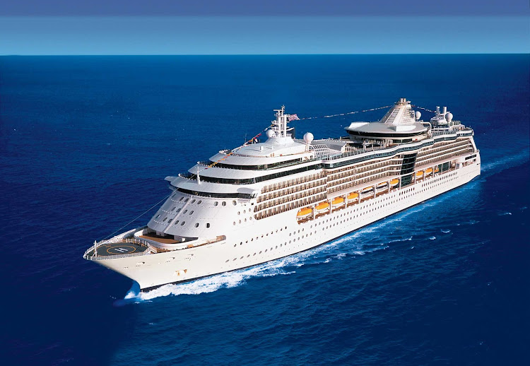 Serenade of the Seas sails to Alaska in the summer months.