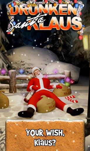 Drunken Santa Klaus