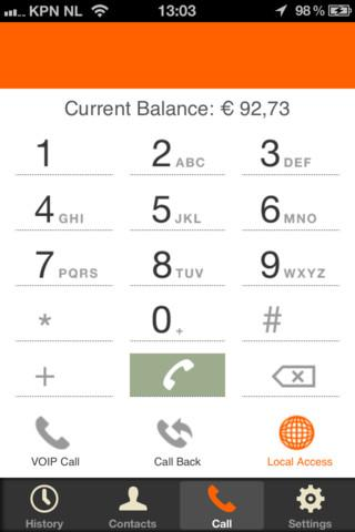 007VoIP Cheap VoIP calls - screenshot