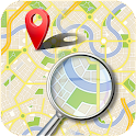 Location tracker, my helper icon