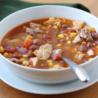 Ranch Style Chicken and Bean Soup.