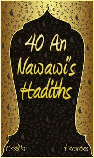 40 An Nawawis Hadiths Islam