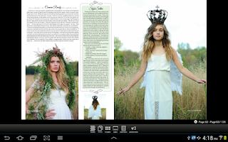 Screenshot of M Magazine