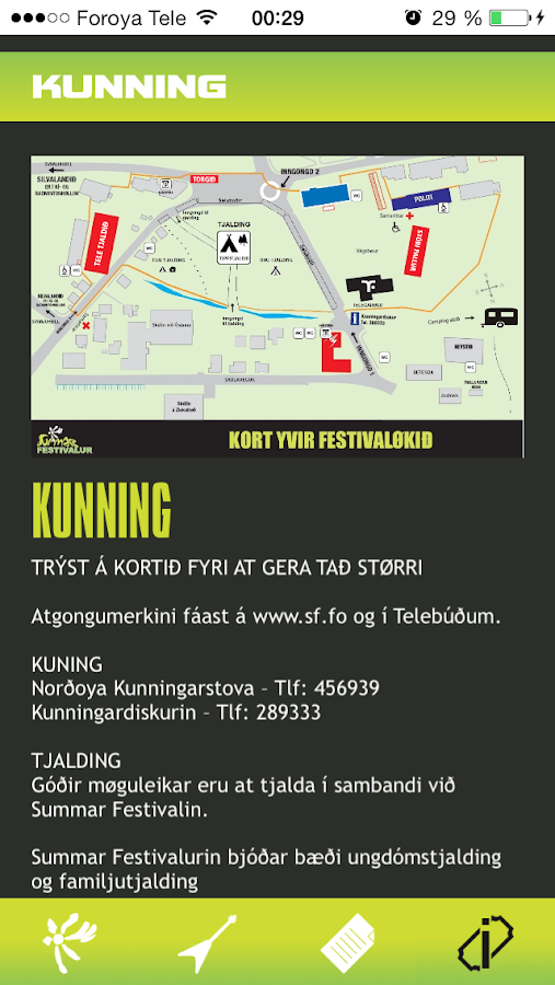 Summarfestivalurin - screenshot