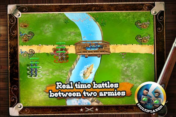 North vs South - screenshot