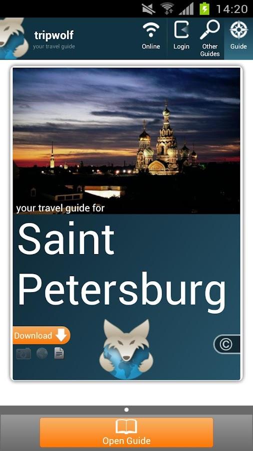 St Petersburg Premium Guide- screenshot