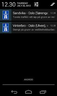 Traffic in Norway- screenshot thumbnail