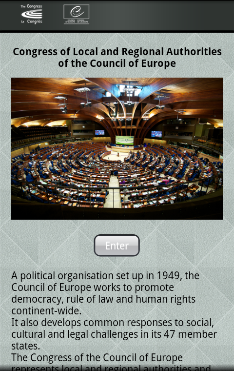 CoE Congress - screenshot