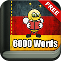 Learn German - 6,000 Words icon