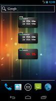 Screenshot of Uptime widget