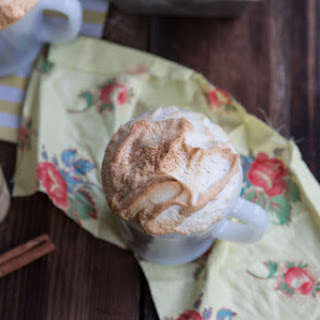 Gingerbread Latte Mug Cakes with Cinnamon Meringue Recipe