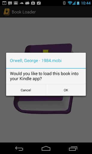 Book Loader for Kindle ebooks