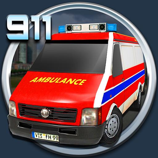 911应急救援模拟器 模擬 LOGO-玩APPs
