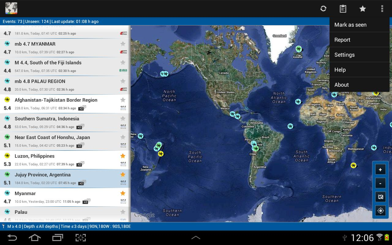 Geohazard - Natural Hazards - screenshot