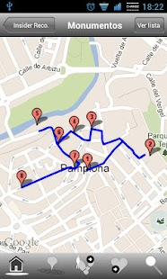 Insider Pamplona- screenshot thumbnail