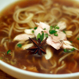 Sichuan-Style Chicken Noodle Soup.
