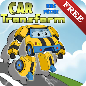 Kids Puzzle – Car Transform for PC and MAC